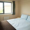 Castle Mill 2-bed flat bedroom with double bed