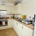 Castle Mill Gatehouse flat kitchen