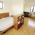 Castle Mill studio double bed