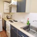 Summertown House North Block Studio kitchen